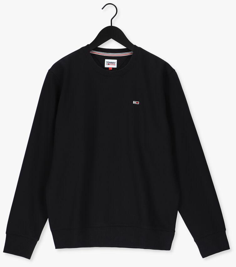 Zwarte TOMMY JEANS Sweater TJM REGULAR FLEECE C NECK  - larger
