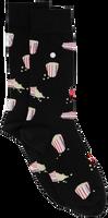 Zwarte ALFREDO GONZALES Sokken POPCORN - medium