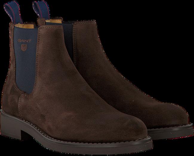 Bruine GANT Chelsea boots OSCAR  - large