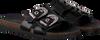 Zwarte OMODA Slippers LPARANSTUD-07  - small