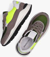 Grijze PINOCCHIO Lage Sneaker P1770 - medium