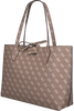 Taupe GUESS Shopper HWQL64 22150 - small