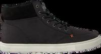 Zwarte HUB Hoge sneaker GLASGOW  - medium