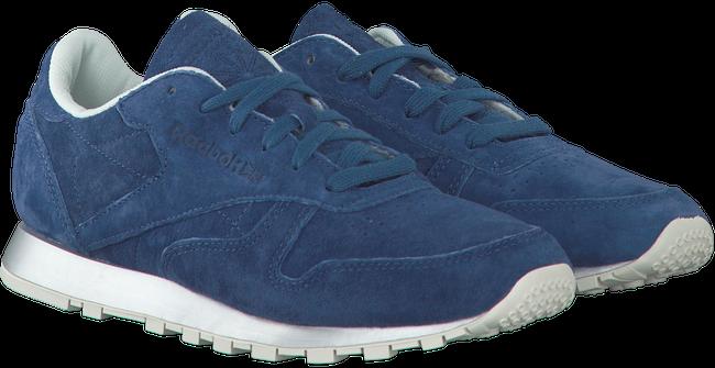 Blauwe REEBOK Sneakers CL LEATHER WMN - large