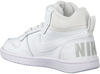 Witte NIKE Sneakers COURT BOROUGH MID KIDS  - small