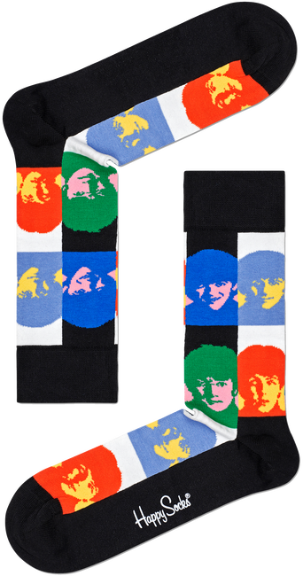 Multi HAPPY SOCKS Sokken BEATLES ALL TOGETHER NOW SOCK  - large