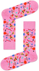 Roze HAPPY SOCKS Sokken PINK PANTER BOMB VOYAGE SOCK  - small