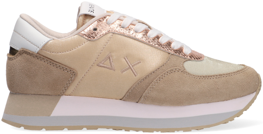 Beige SUN68 Lage sneakers KATE SHINE  - larger
