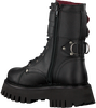 Zwarte BRONX Veterboots GROOV-Y 47267  - small