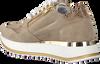 Beige RED-RAG Lage sneakers 76706  - small