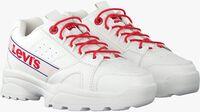 Witte LEVI'S Lage sneakers SOHO  - medium