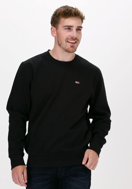 Zwarte TOMMY JEANS Sweater TJM REGULAR FLEECE C NECK  - large