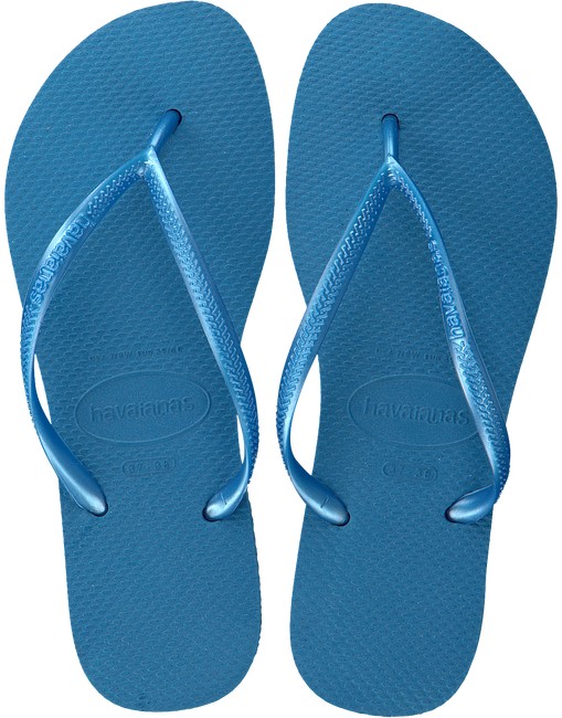 Blauwe HAVAIANAS Slippers SLIM WOMEN  - large