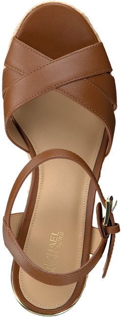 Cognac MICHAEL KORS Sandalen SUZETTE WEDGE  - large
