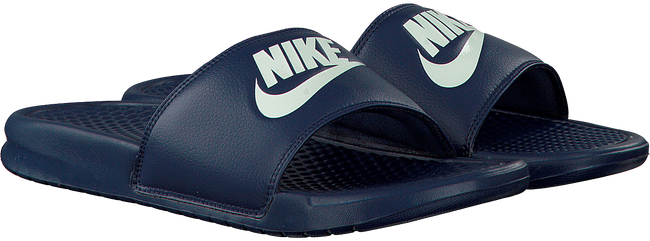 Blauwe NIKE Slippers BENASSI JDI MEN  - large