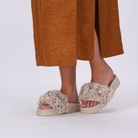 Beige INUIKII Slippers LORY LU  - medium