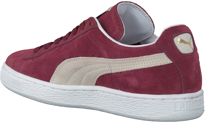 6cc4878d8e8 Rode PUMA Sneakers SUEDE CLASSIC+ DAMES - large. Next