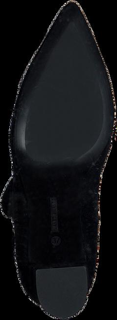 Zwarte JANET & JANET Enkellaarsjes 46402  - large
