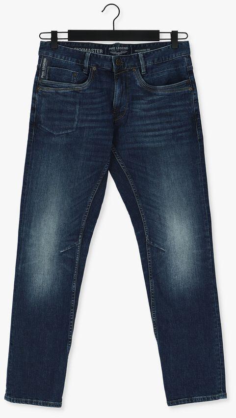 Donkerblauwe PME LEGEND Slim fit jeans SKYMASTER DARK INDIGO DENMI - larger