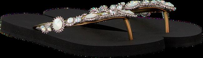 Zwarte UZURII Slippers PEARL MARILYN - large