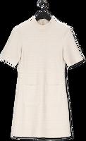 Beige VANILIA Mini jurk Boucle Cotto dress