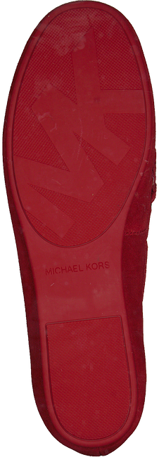 Rode MICHAEL KORS Mocassins SUTTON MOC  - large