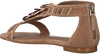 Bruine LOLA CRUZ Sandalen 305Z30BK  - small