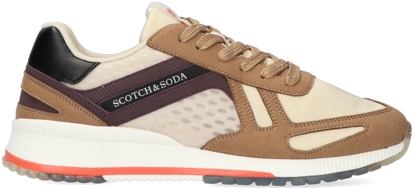 Taupe SCOTCH & SODA Lage sneakers VIVEX  - larger