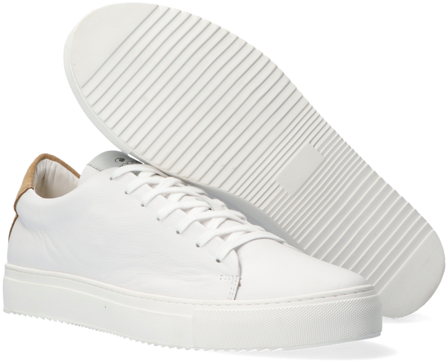 Witte GOOSECRAFT Lage sneakers JASON CUPSOLE  - large
