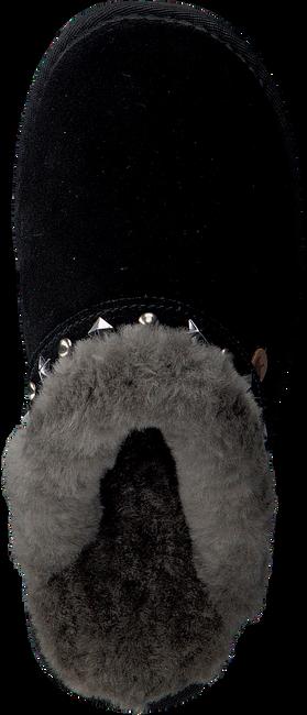 Zwarte WARMBAT Pantoffels FLURRY WOMEN STUDS - large