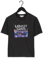 Zwarte SUNCOO T-shirt TSHIRT MANOS
