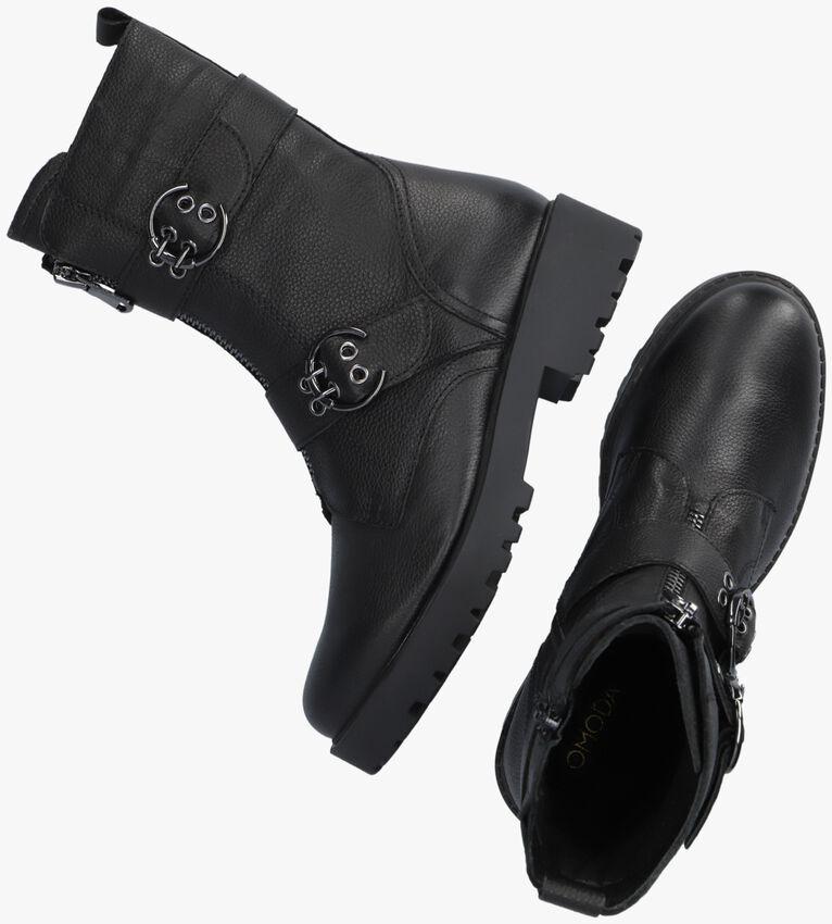 Zwarte OMODA Biker boots LPBOND-08  - larger