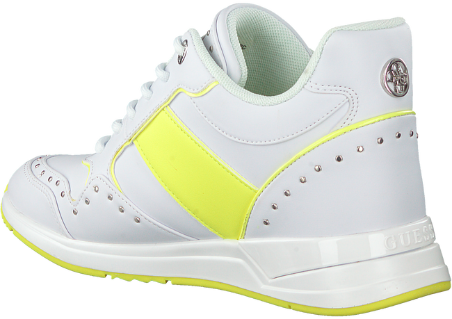 Witte GUESS Lage sneakers REJJY  - large