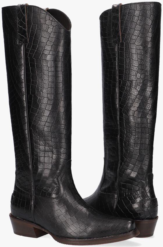 Zwarte SHABBIES Hoge laarzen 192020112  - larger