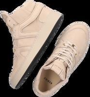 Taupe NUBIKK Hoge sneaker JIRO DUNK  - medium