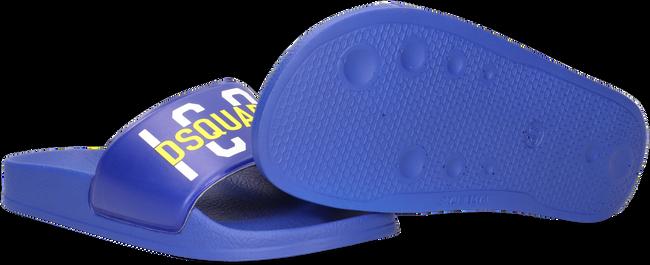 Blauwe DSQUARED2 Slippers ICON KID SLIDE 2  - large