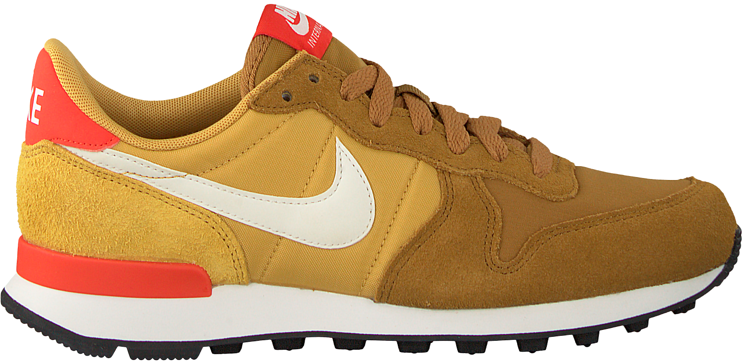 Gele NIKE Sneakers INTERNATIONALIST WMNS