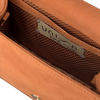 Bruine UNISA Clutch ZBOREA - small