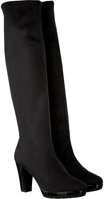 Zwarte RAPISARDI Lange laarzen 2378 JOLIE LAC  - large