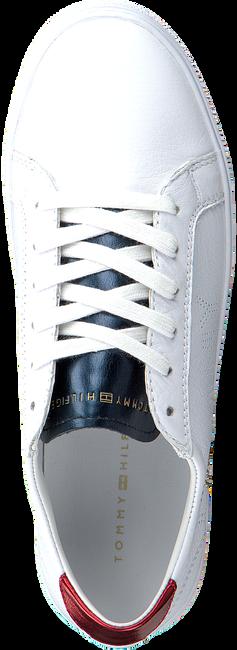 Witte TOMMY HILFIGER Sneakers TOMMY STAR METALLIC SNEAKER  - large