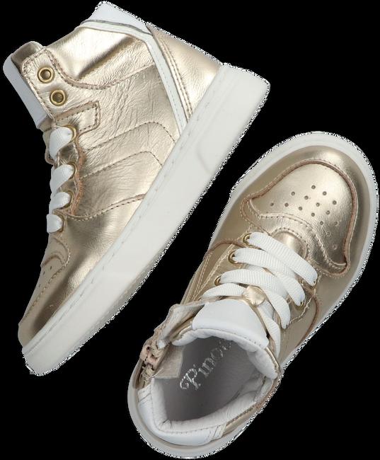 Gouden PINOCCHIO Hoge sneaker P1737  - large