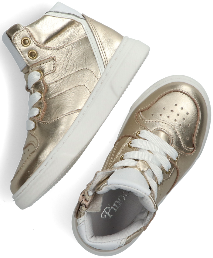 Gouden PINOCCHIO Hoge sneaker P1737  - larger
