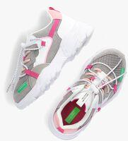 Witte BENETTON Lage sneakers LAYERS  - medium