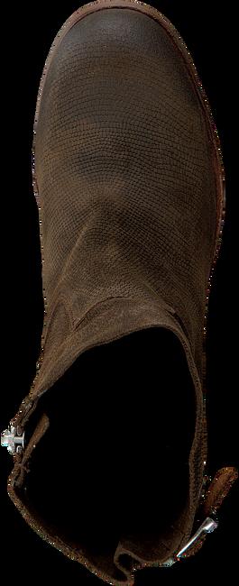 Bruine SHABBIES Enkellaarsjes 182020058  - large