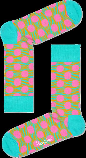 Blauwe HAPPY SOCKS Sokken TIGER DOT SOCK  - large