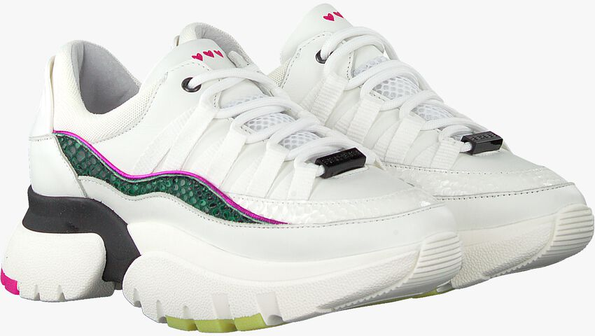 Witte REHAB Lage sneakers SYLVIA FANTASY  - larger