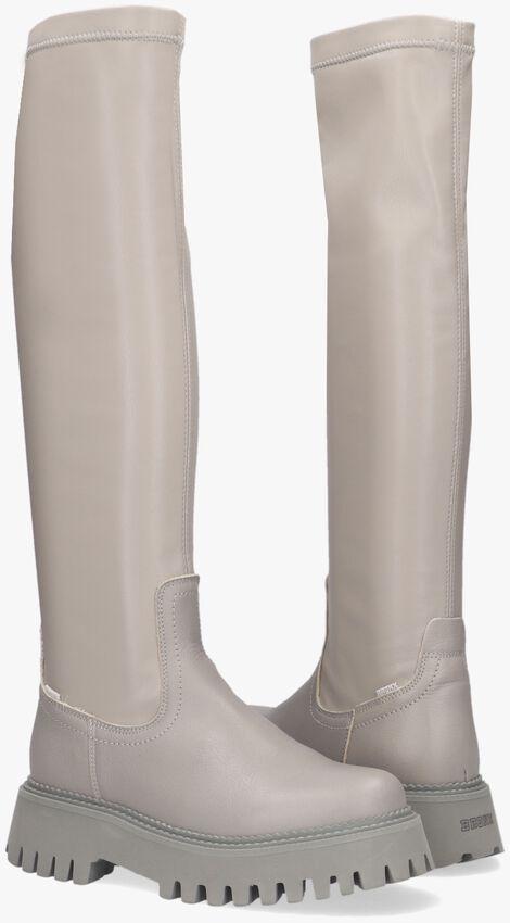 Grijze BRONX Hoge laarzen GROOV-Y HIGH STRETCH  - larger