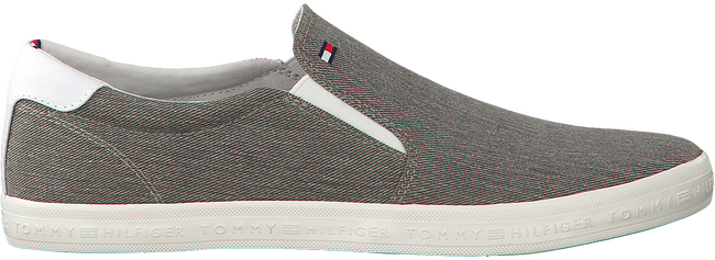 Grijze TOMMY HILFIGER Slip-on sneakers  ESSENTIAL SLIP ON SNEAKER  - large