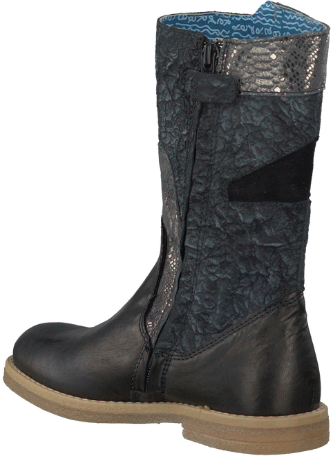 Zwarte RED RAG Lange laarzen 15286  - large