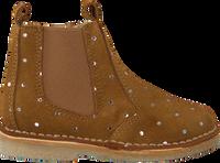 Cognac POM POM Chelsea boots 6396Z  - medium
